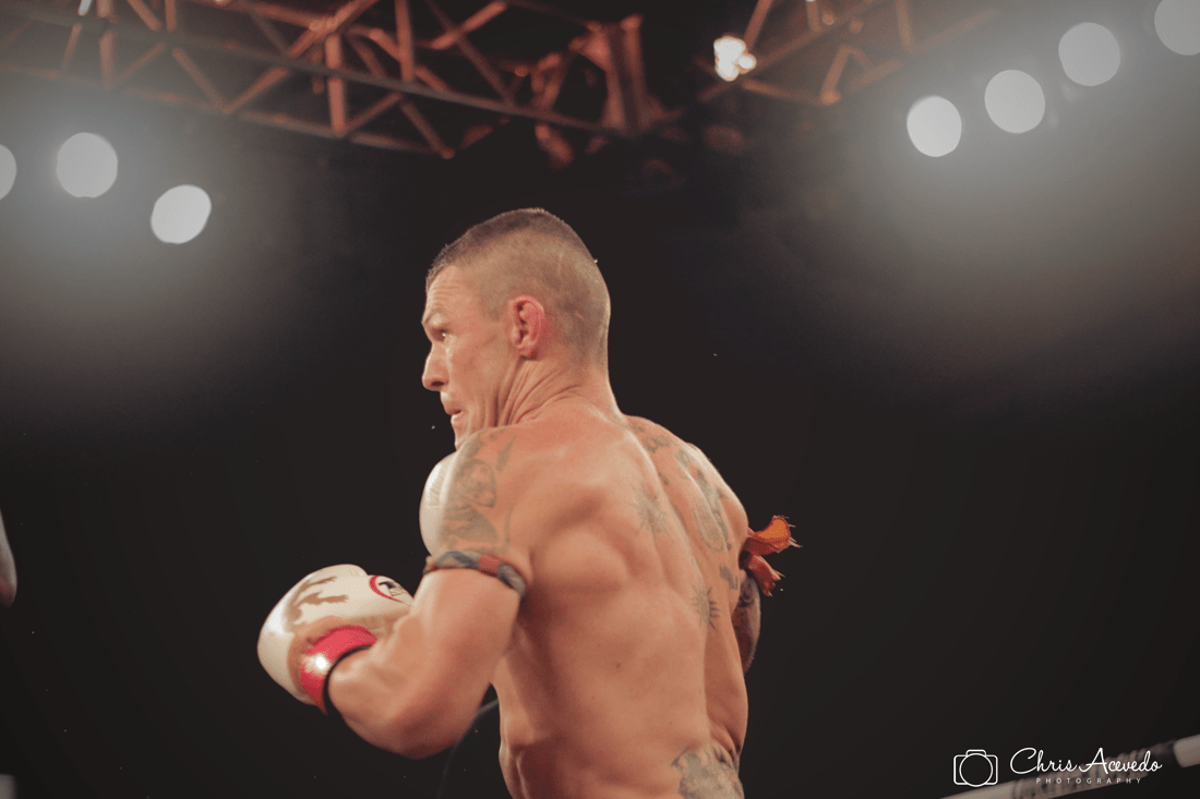 John Wayne Parr Lion Fight 25