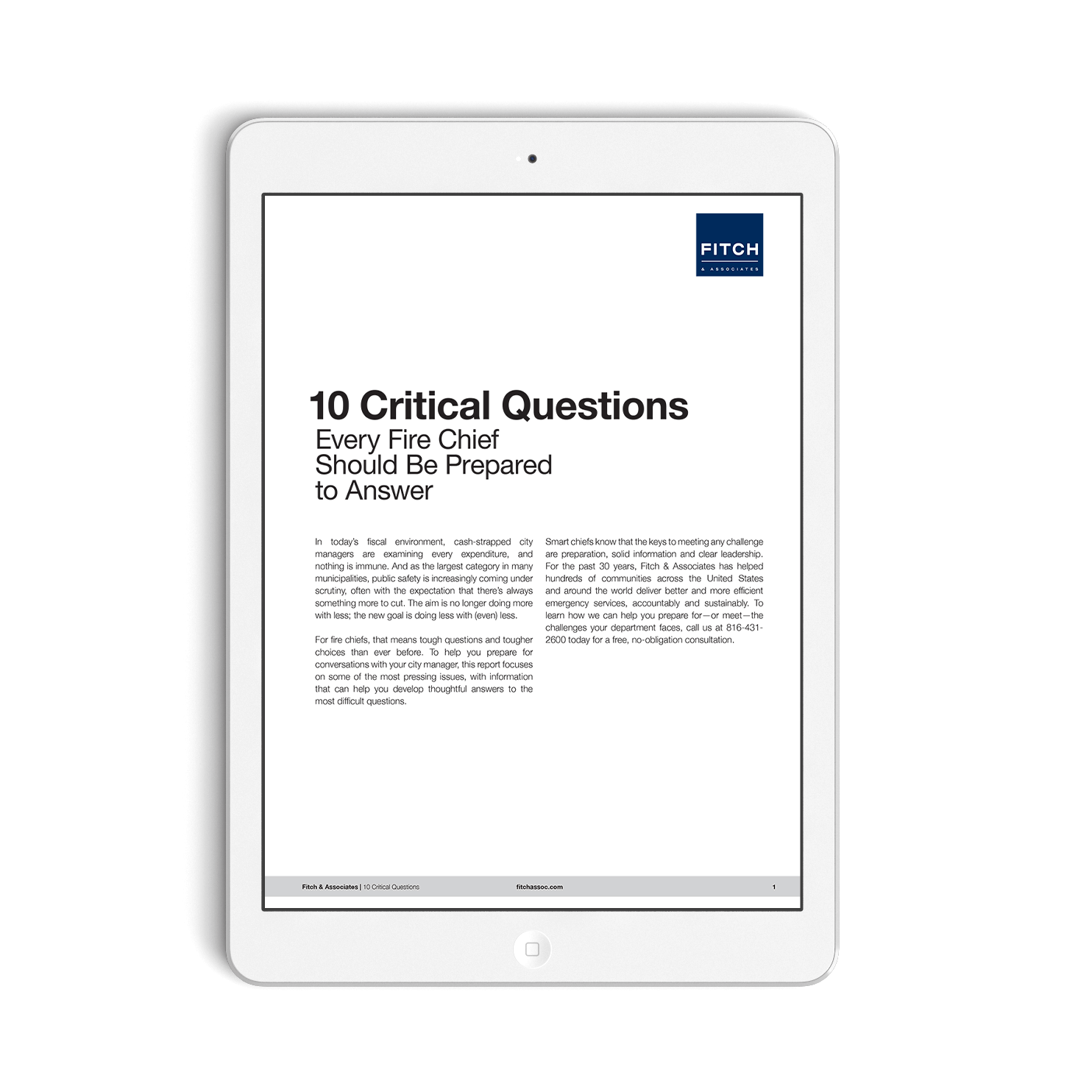 Fitch 10 Questions Whitepaper