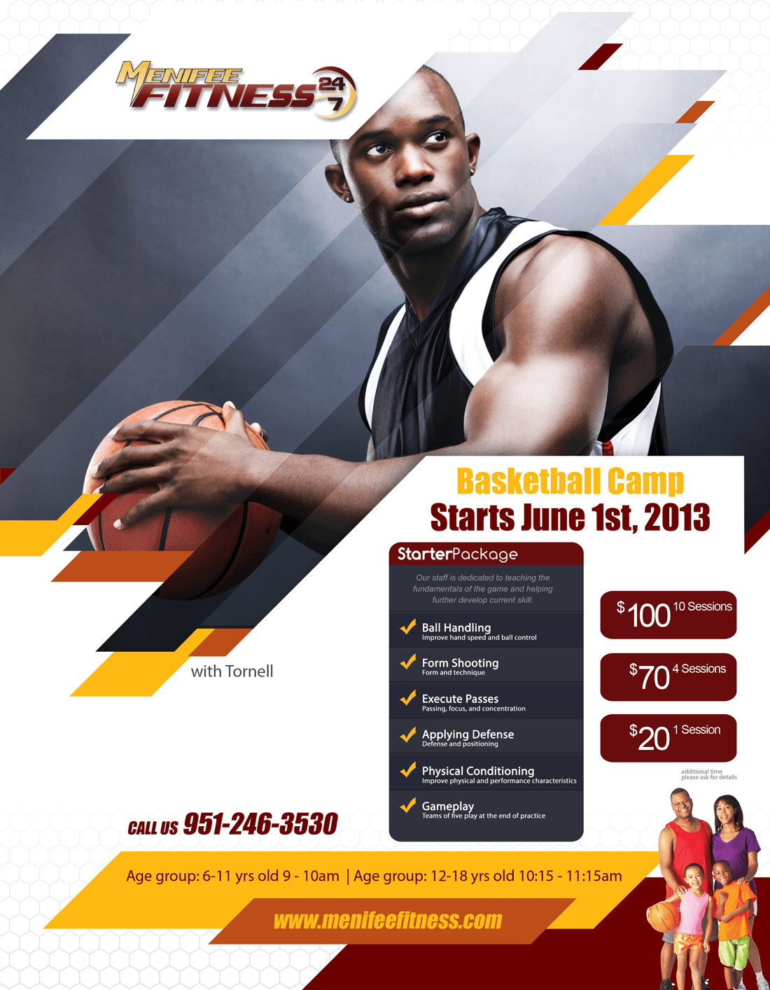 Menifee Fitness Basketball Camp
