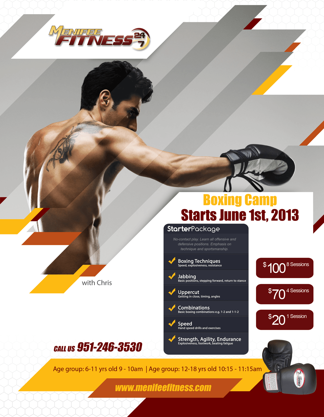 Menifee Fitness Boxing Camp