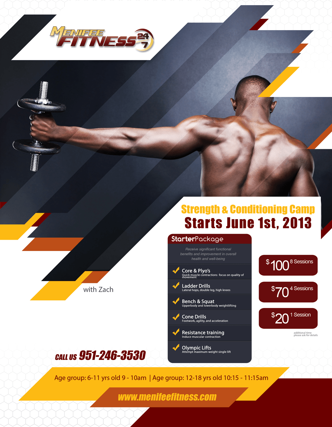 Menifee Fitness Strength Conditioning Camp