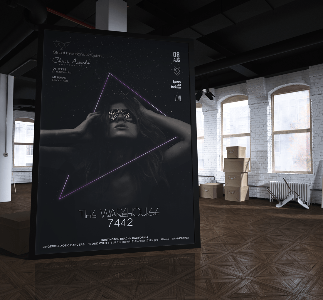 The Warehouse 7442 Promotional Poster