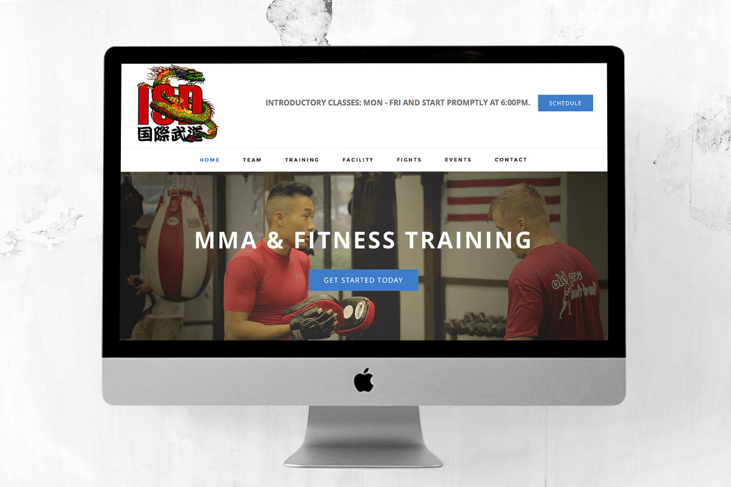 ISDMMA Website Redesign