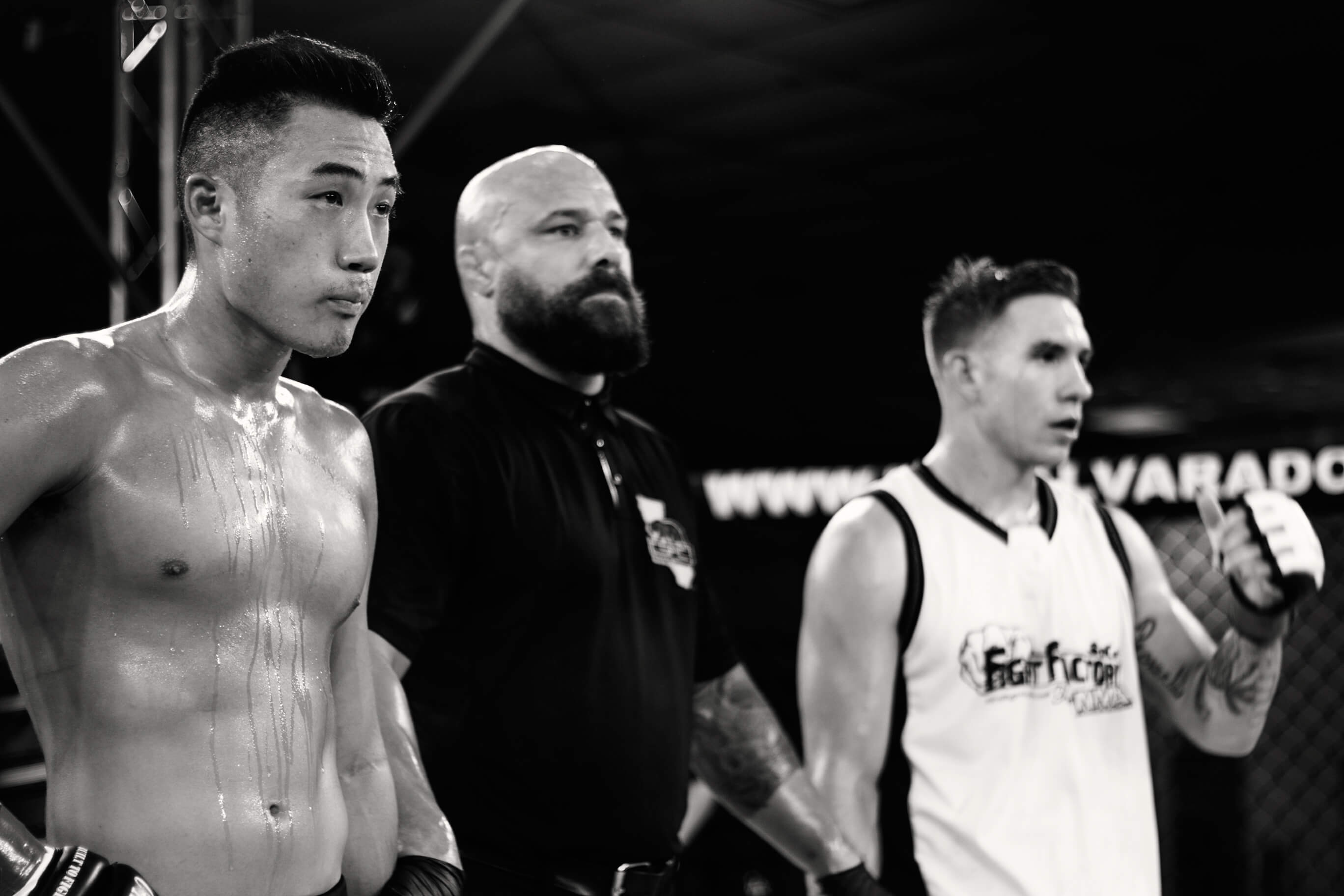 Josh Kim and opponent at CFL VIII